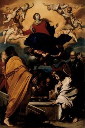 The Assumption of the Virgin, c.1630-1635 by Massimo Stanzione