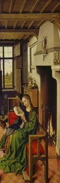 St. Barbara, about 1438 by Master of Flemalle