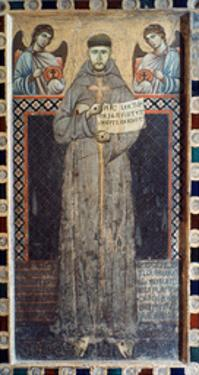 Saint Francis Of Assisi by Master Of Saint Francis