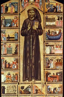 St Francis Of Assisi by Master of St. Francis Bardi