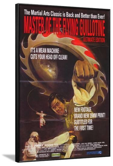 Master of the Flying Guillotine--Framed Poster