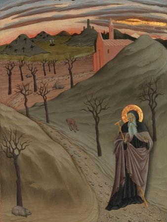 Saint Anthony the Abbot in the Wilderness, c.1435 by Master of the Osservanza