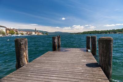 Riva Del Garda View at the Lake, Italy