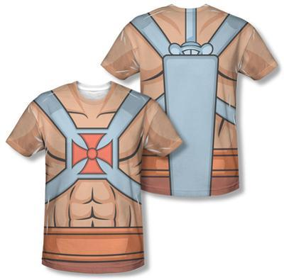 Masters of the Universe - He-Man Costume Tee (Front/Back Print)