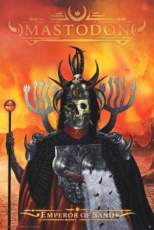 Mastodon- Emperor Sand Album Cover