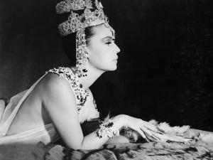 Mata-Hari agent H.21 by JeanLouisRichard with Jeanne Moreau, 1964 (b/w photo)