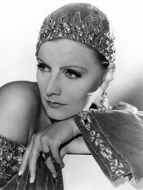 Mata Hari, Greta Garbo, Portrait by Clarence Sinclair Bull, 1931
