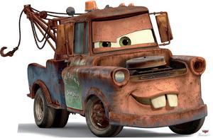 Mater - Cars Lifesize Cardboard Cutout