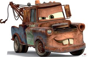 Mater - Cars Lifesize Standup