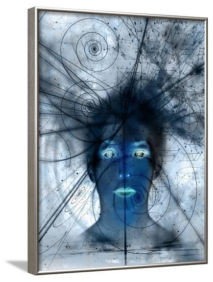 Mathematical Universe, Conceptual Artwork-Mehau Kulyk-Framed Photographic Print