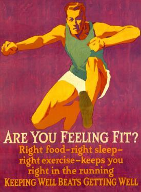 Feeling Fit Motivational by Mather