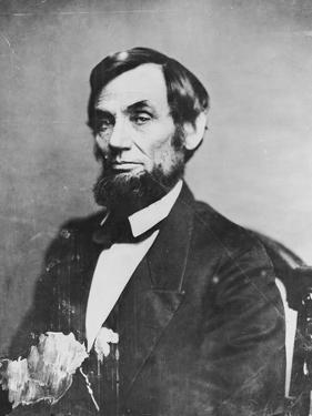 Abraham Lincoln, 1861 by Mathew Brady