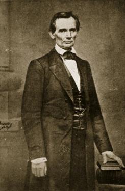 Abraham Lincoln, May 1860 by Mathew Brady