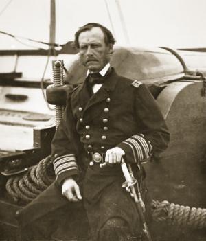 Admiral John A. Dahlgren by Mathew Brady