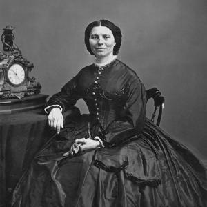 Clara Barton (1821-1912) by Mathew Brady