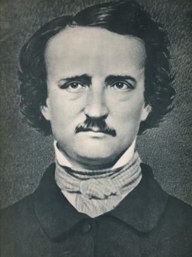 'Edgar Allan Poe', c1840, (1939) by Mathew Brady