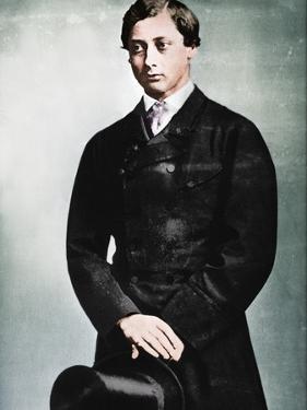 'Edward VII as Prince of Wales, New York,1860', 1860, (1939) by Mathew Brady