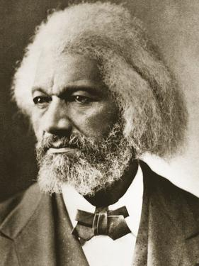 Frederick Douglass by Mathew Brady