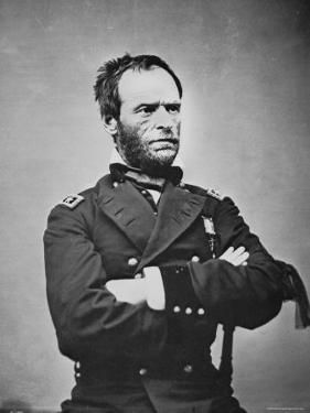 General William T. Sherman by Mathew Brady