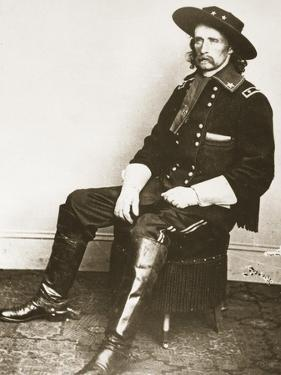 George Armstrong Custer by Mathew Brady