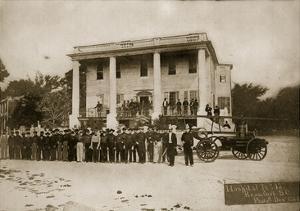 Hospital No.15, Beaufort, South Carolina, 1864 (B/W Photo) by Mathew Brady