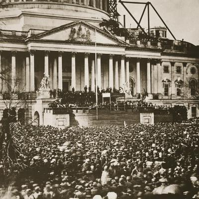 Inauguration of President Lincoln, 4th March 1861