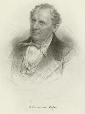 James Fenimore Cooper by Mathew Brady