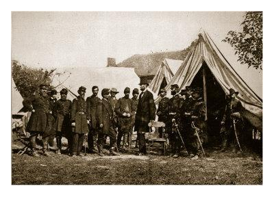 President Lincoln Visiting the Camp at Antietam, 1892