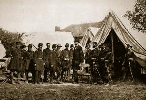 President Lincoln Visiting the Camp at Antietam, 1892 by Mathew Brady