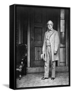 Robert E. Lee (1807-1870) by Mathew Brady