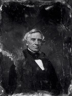 Samuel Morse (1791-1872) circa 1844-60 (Daguerreotype) by Mathew Brady