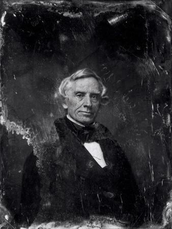 Samuel Morse (1791-1872) circa 1844-60 (Daguerreotype)