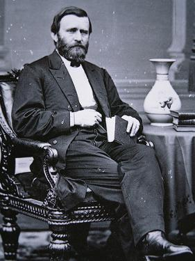 Ulysses Simpson Grant (1822-85) by Mathew Brady