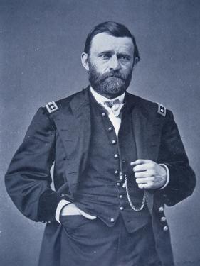 Ulysses Simpson Grant by Mathew Brady