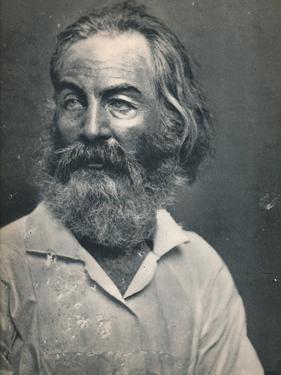 'Walt Whitman', c1862, (1939) by Mathew Brady