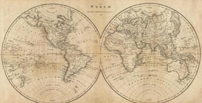 The World, c.1825 by Mathew Carey
