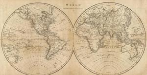 The World, c.1825 by Mathew Carey