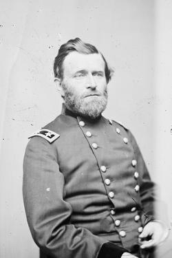 Maj. Gen. Ulysses S. Grant, officer of the Federal Army, 1861-5 by Mathew & studio Brady
