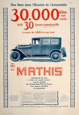 Mathis - Une 10 Cv