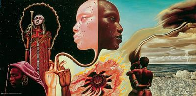 Miles Davis- Bitches Brew Album Art by Mati Klarwein