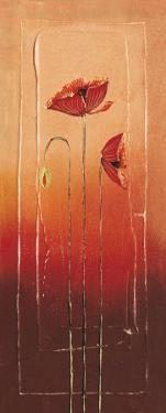 Poppies I by Matilda Ellison