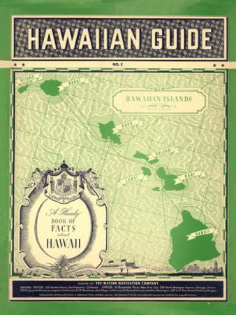 Matson Hawaiian Guide Map