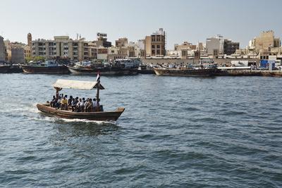 Abra (Ferry Boat), Dubai Creek, Dubai, United Arab Emirates, Middle East