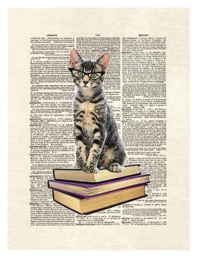 Book Cat by Matt Dinniman