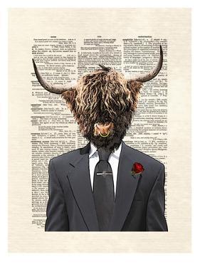 Highlandbull Man by Matt Dinniman
