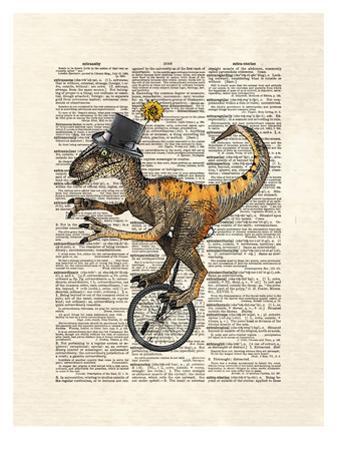 Raptor Unicycle by Matt Dinniman