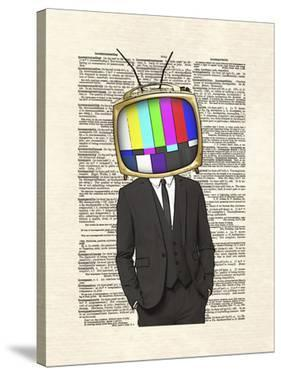 Television Head by Matt Dinniman