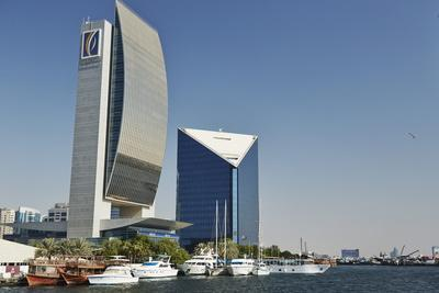 Emirates Nbd and Dubai Chamber of Commerce Buildings