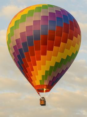 Laos, Vang Vieng. Hot Air Balloon by Matt Freedman
