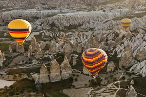 Sunrise Balloon Flight, Cappadocia, Turkey by Matt Freedman